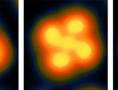Research team saves information on a single molecule