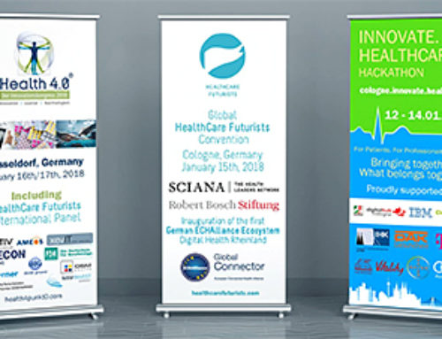 Health 4.0 as part of the HealthCare Innovation Week. January 16 – 17 in Düsseldorf, Germany