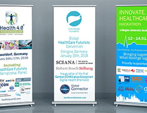 Health 4.0 as part of the HealthCare Innovation Week. January 16 – 17 in Düsseldorf, Germany